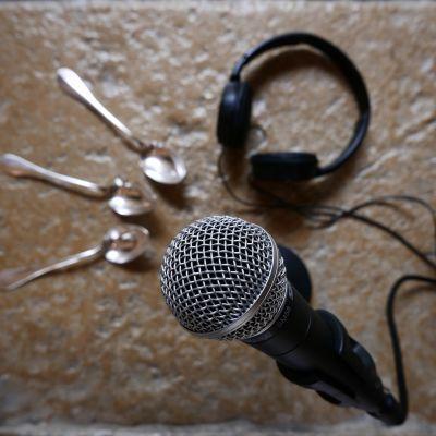 Créer un podcast et écouter Une cuillère en argent.