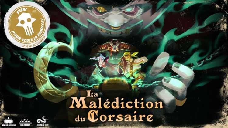 Miniature vidéo La Malédiction du Corsaire.
