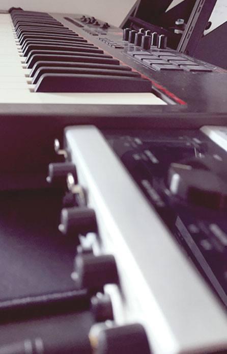 Matèriel audio d'un compositeur freelance