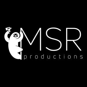 Logo MSR Productions.