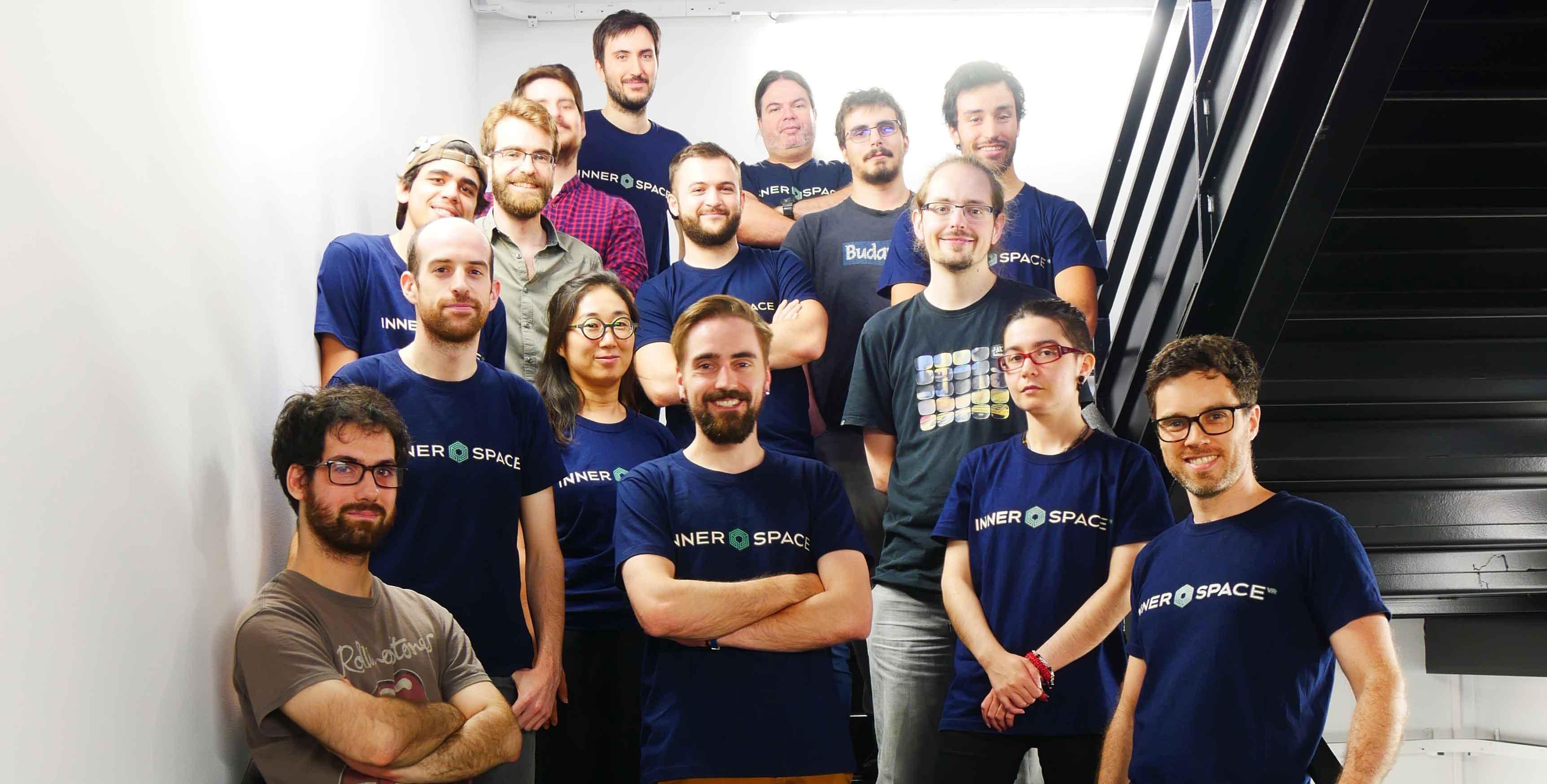 Equipe du studio Innerspace VR